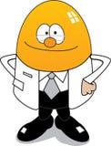 Il dottore Egg Vector Fotografia Stock