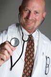 Il dottore Smiling Immagine Stock