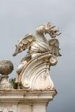 Il drago alato della villa Borghese, Roma immagini stock libere da diritti