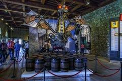 Il drago della guerra nella camera dell'arsenale della torre di Londra Fotografia Stock Libera da Diritti