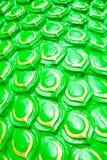 Il drago verde riporta in scala il fondo o lo stucco del serpente immagine stock