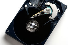 Il drive del hard disk di sata del computer smonta Immagini Stock