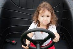 Il driver della ragazza Immagine Stock Libera da Diritti