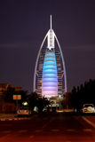 Il Dubai. Arabo di Al di Burj dell'hotel fotografia stock