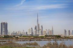 Il Dubai da The Edge Immagini Stock Libere da Diritti