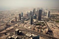 Il Dubai del centro Fotografia Stock