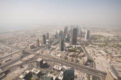 Il Dubai del centro Fotografia Stock Libera da Diritti