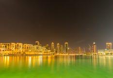 Il Dubai - 9 gennaio 2015: Anima Al Bahar gennaio Fotografie Stock