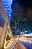 Il Dubai Marina Skyline Fotografia Stock Libera da Diritti