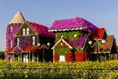 Il Dubai, 17 novembre 2017 - giardino di miracolo UAE nel Dubai UAE fotografia stock