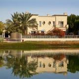 Il Dubai residenziale Immagini Stock Libere da Diritti