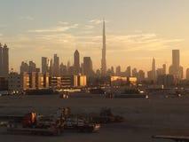 Il Dubai Skyscrappers Immagine Stock Libera da Diritti