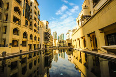 Il Dubai Souk Al Bahar immagini stock