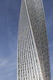 IL DUBAI, UAE - 18 GENNAIO 2017: Cayan Tower, o torre di infinito, i Fotografia Stock Libera da Diritti