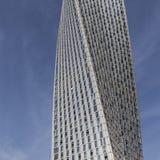 IL DUBAI, UAE - 18 GENNAIO 2017: Cayan Tower, o torre di infinito, i Immagine Stock