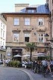 Il dubbio del Thomas Corner, dispone a Cracovia Fotografia Stock