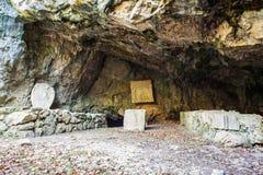 Il Duino Mithraeum Fotografia Stock