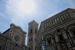 Il Dumo architektura w Florencja, Włochy zdjęcia royalty free