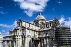 Il duomo (cattedrale) di Pisa (campo dei miracoli) Immagine Stock Libera da Diritti
