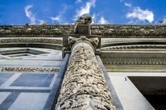 Il duomo (cattedrale) di Pisa (campo dei miracoli) Immagini Stock Libere da Diritti