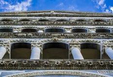 Il duomo (cattedrale) di Pisa (campo dei miracoli) Fotografie Stock Libere da Diritti