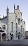 Il duomo di Como (IT) -  The dome, Como (IT). A beatiful landscape of the facade of the dome in Como (IT Stock Photography