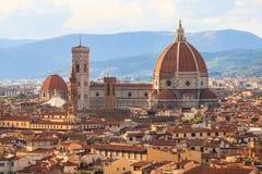 Il duomo di Firenze, Italia Fotografia Stock
