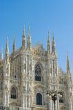 Il Duomo di Milan, Italy Stock Photos