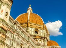Il-Duomo - domkyrkan i Florence, Italien royaltyfria bilder