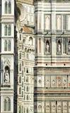 Il duomo, Firenze, Italia Fotografia Stock