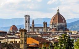 IL Duomo in Florence Royalty-vrije Stock Fotografie