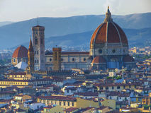 Il Duomo. Most important church at Florencs Royalty Free Stock Image