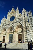 Il duomo in Siena Italy, Toscana fotografia stock libera da diritti