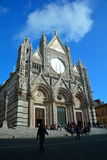 Il duomo in Siena Italy, Toscana fotografie stock