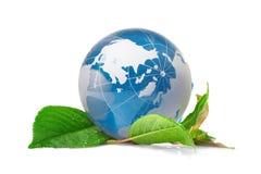 Il eco di concetto del globo Immagini Stock
