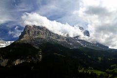 Il Eiger Fotografia Stock Libera da Diritti