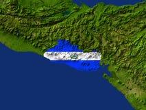 Il El Salvador Fotografie Stock