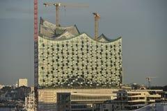 Il Elbphilharmonie Amburgo, Germania Fotografie Stock Libere da Diritti