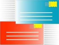 Il email trasmette il tasto ricevuto Fotografia Stock