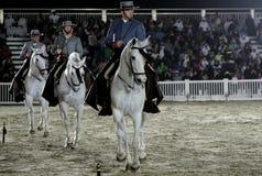 Il Equestrian effettua il 26 marzo 2012 in Bahrain fotografie stock libere da diritti
