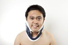 Il est blessé Images libres de droits