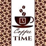Il est temps de café Photos libres de droits