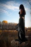 Il est temps pour la sorcellerie Photo stock