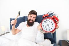 Il est totalement normal de d?tester votre bruit d'alarme Programme d?testable Les meilleurs r?veils pour les personnes qui d?tes photo stock