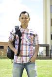 Il est un bon étudiant Photo libre de droits