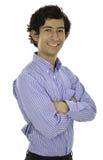 Il est un jeune homme d'affaires Photos stock