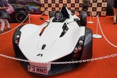 Il F3 MNO del supercar di BAC Mono ha presentato sul salone dell'automobile di Nagoya 2015 a Nagoya, Giappone immagini stock libere da diritti