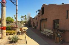 Il fabbro Shop Shot, Scottsdale, Arizona di un Cavalliere Immagini Stock