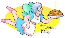 Il fairy della ciambella illustrazione di stock