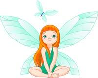 Il Fairy osserva per la farfalla di volo Immagini Stock